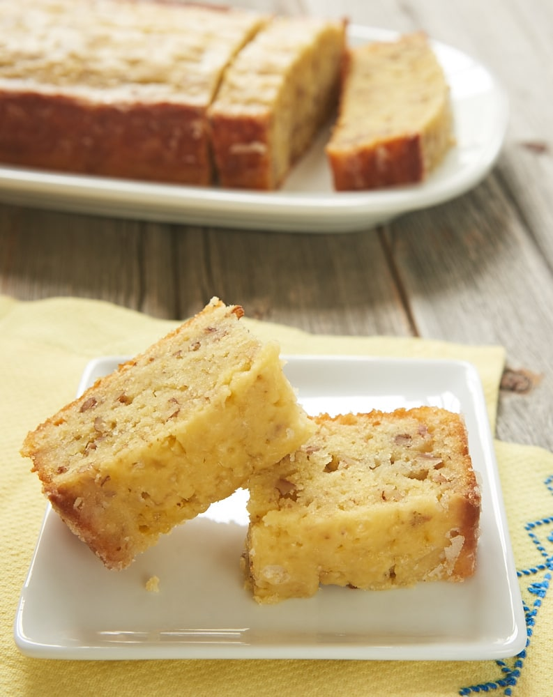 This soft, flavorful Lemon Bread is a great for breakfast, a snack, or even for dessert. A must-bake for lemon lovers! - Bake or Break