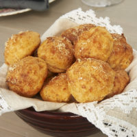 Gougeres (Cheese Puffs) are so delectable and surprisingly simple to make. These never fail to turn out beautifully and make everyone ask for more! - Bake or Break