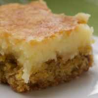 Chess Squares are a simple, delicious, classic dessert. Always a crowd-pleaser! - Bake or Break