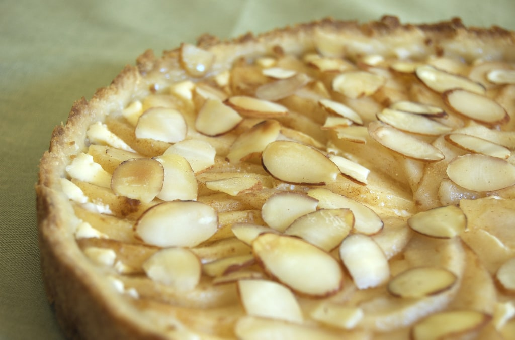 Almond Pear Cream Cheese Tart | Bake or Break