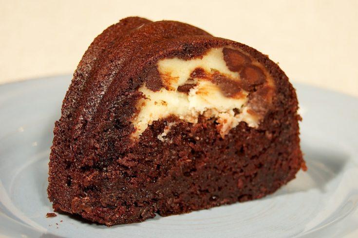 Marbled Chocolate Bundt Cake