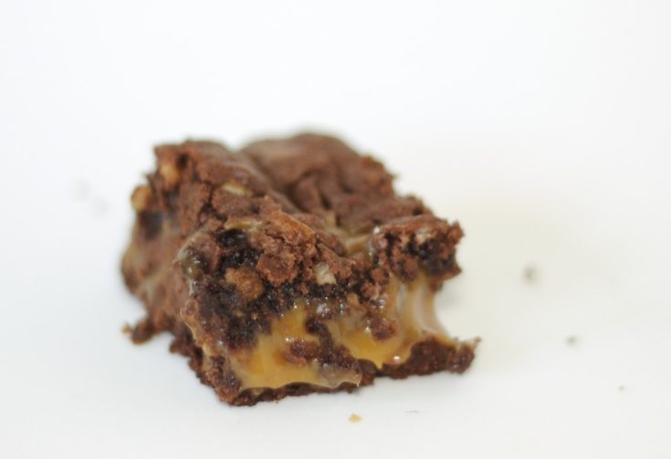 Chocolate Caramel Brownies