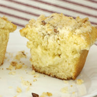 There's so much great flavor in Quinn's Cream Cheese Muffins!