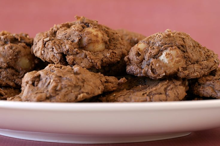 Chocolate-Macadamia Nut Clusters