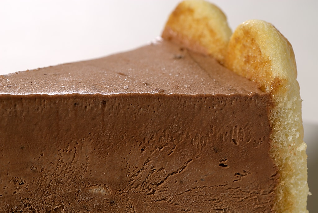 This simple Chocolate Charlotte is sure to impress. It's beautiful and delicious!