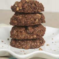 Chocolate Monster Cookies are sweet, chocolate cookies packed with so many good things! - Bake or Break