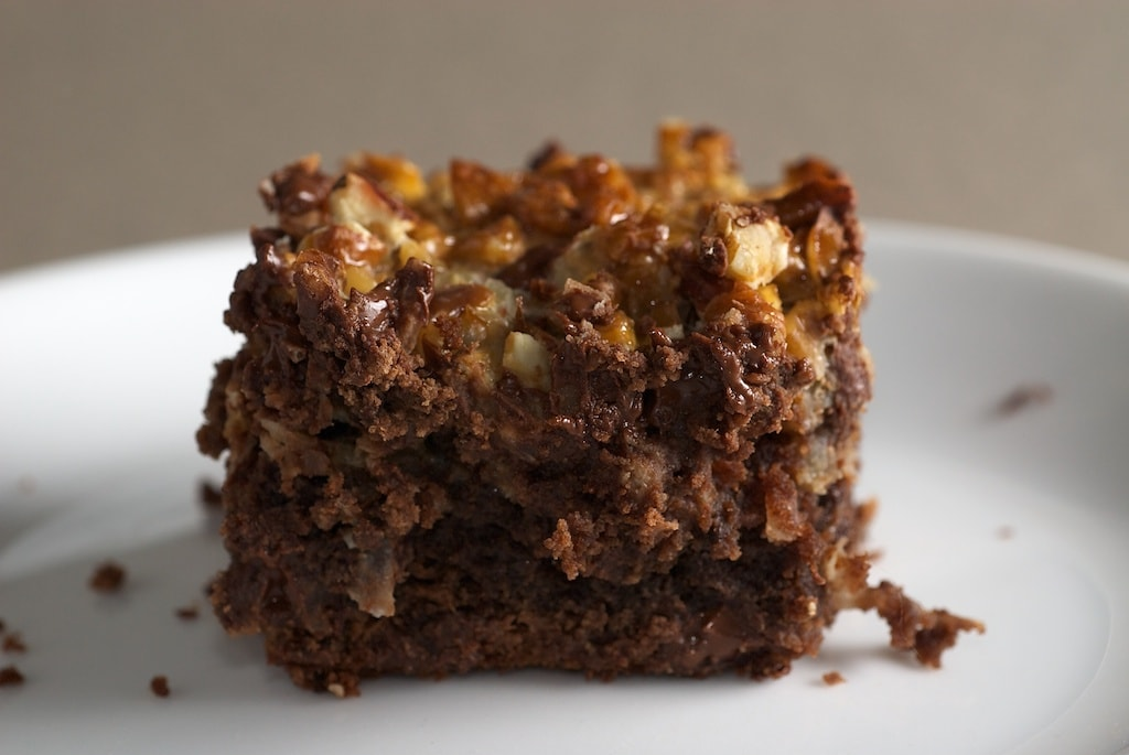 If you like your brownies loaded with lots of flavor, then these Caramel Coconut Pecan Brownies are for you! - Bake or Break