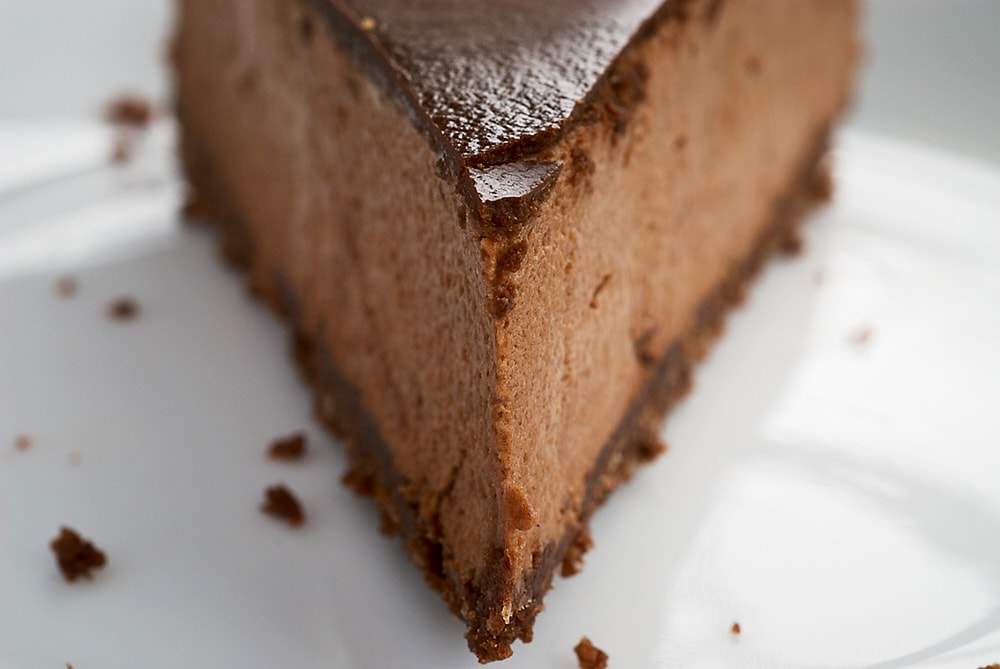 Chocolate-Glazed Hazelnut Mousse Cake is so deliciously decadent. I just love all those layers of chocolate goodness! - Bake or Break