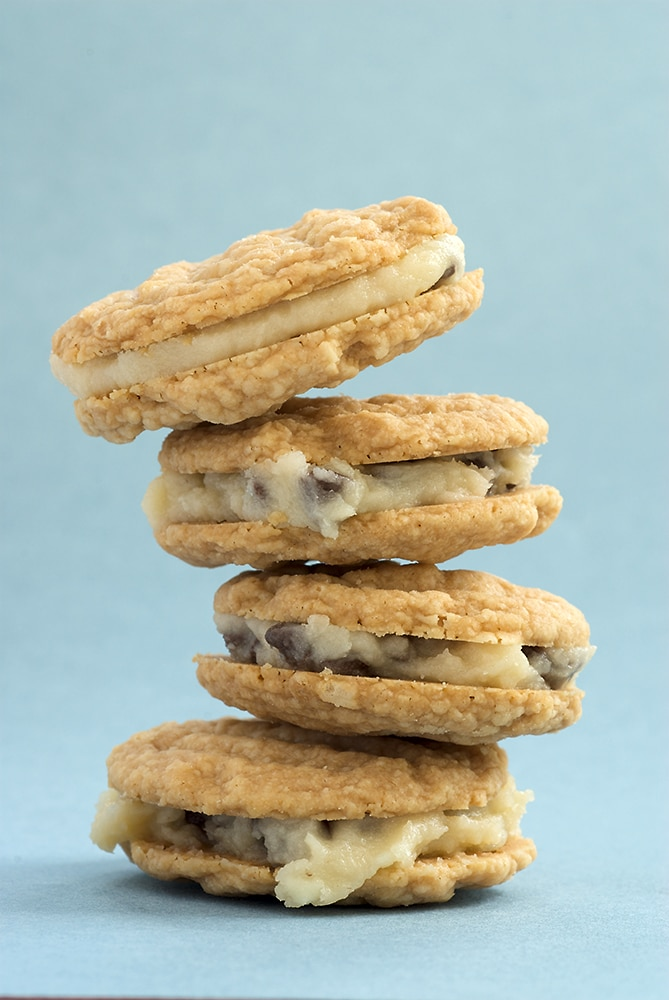 Chocolate Chip-Filled Melting Moments