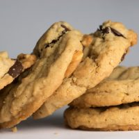 Chocolate Chunk Peanut Cookies are a delicious combination of peanuts, chocolate, and a hint of cinnamon. - Bake or Break