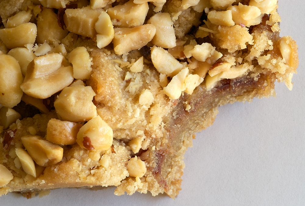 Peanut Butter and Jelly Bars are so sweet and nutty. A terrific crowd-pleasing recipe!