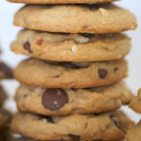 Chunky Peanut, Chocolate, and Cinnamon Cookies are a delicious combination of flavors! - Bake or Break
