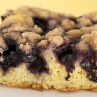 Enjoy the fresh, sweet flavor of blueberries with this simple, delicious Blueberry Crumb Cake.
