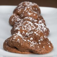 Chocolate and coffee are a perfect pair in these Chocolate Espresso Cookies. - Bake or Break