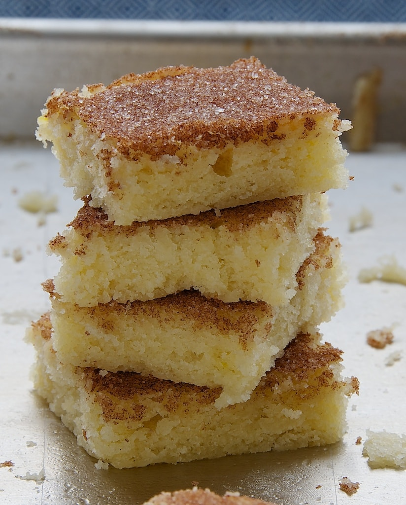 Cinnamon Sugar Cookie Squares | Bake or Break