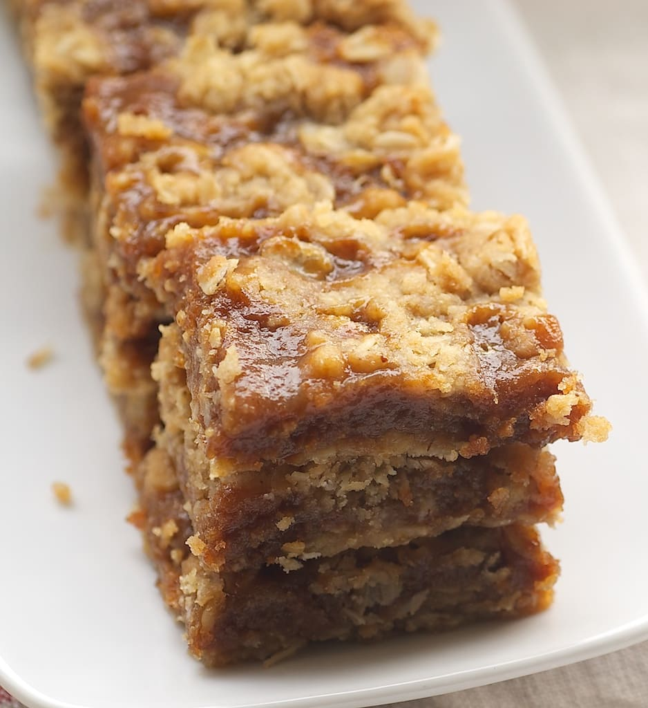 stack of Dulce de Leche Bars