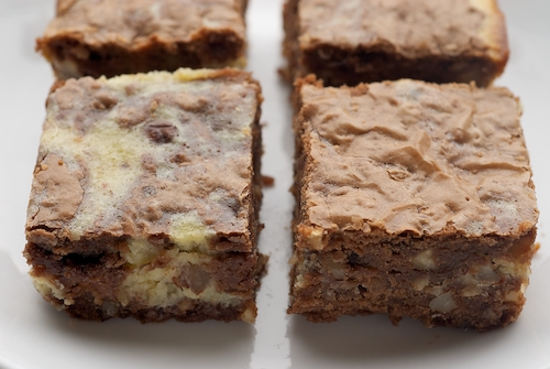 Hazelnut Cream Cheese Brownies | Bake or Break