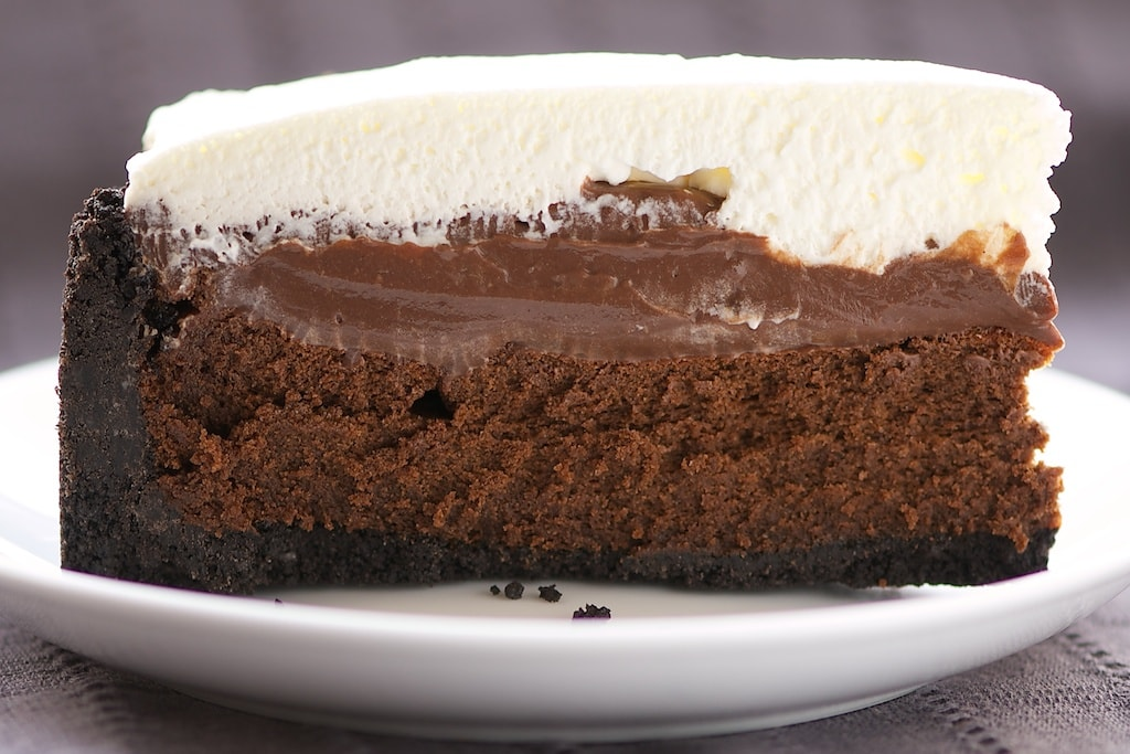 Mississippi Mud Pie is a must for chocolate lovers. So, so good! - Bake or Break