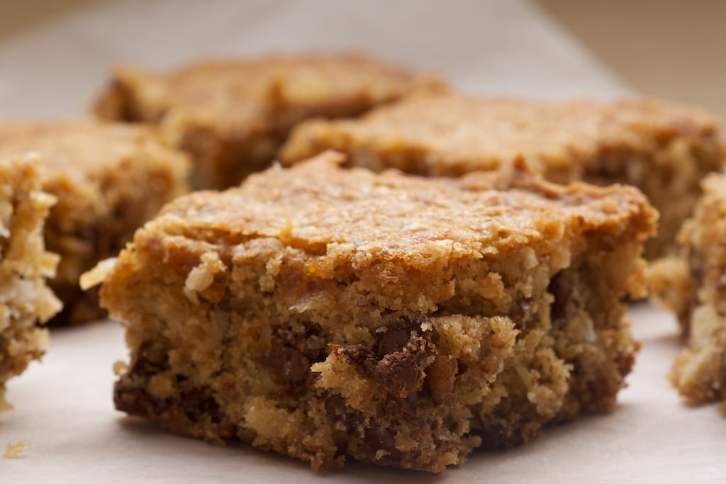 Coconut Pecan Blondies | Bake or Break