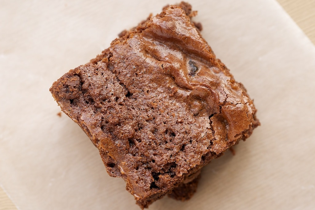 Kitchen Sink Brownies are packed with all kinds of good stuff. You never have to make this versatile recipe the same way twice! - Bake or Break