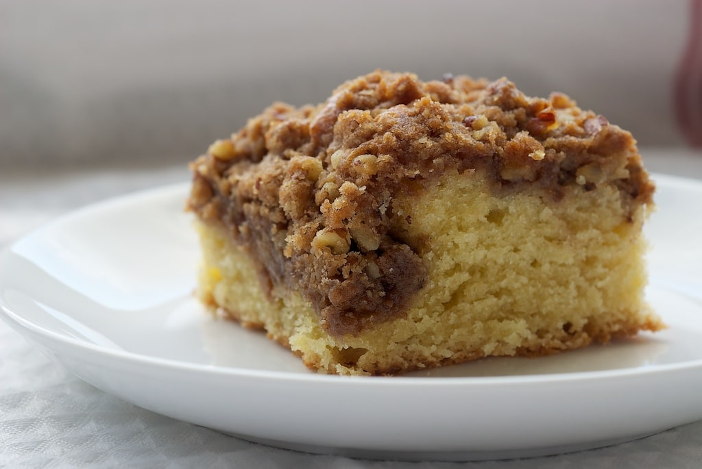 Cinnamon Nut Crunch Cake