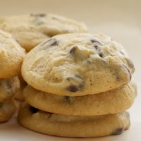 Cream cheese adds big flavor to these Cream Cheese Chocolate Chip Cookies. - Bake or Break