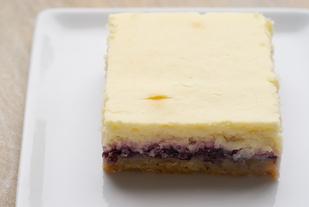 Lemon Blueberry Cheesecake Bars | Bake or Break