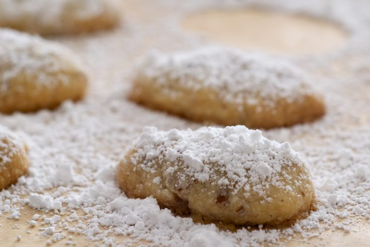 You only need a handful of ingredients to make these sweet, nutty Sand Tarts.