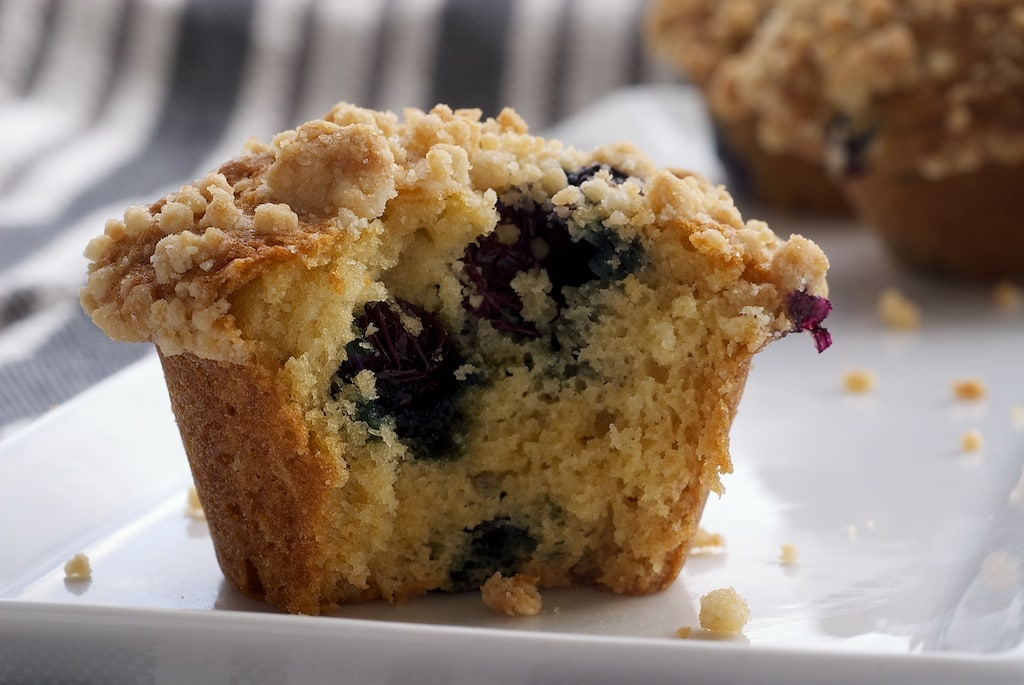Blueberry Breakfast Cake Easy