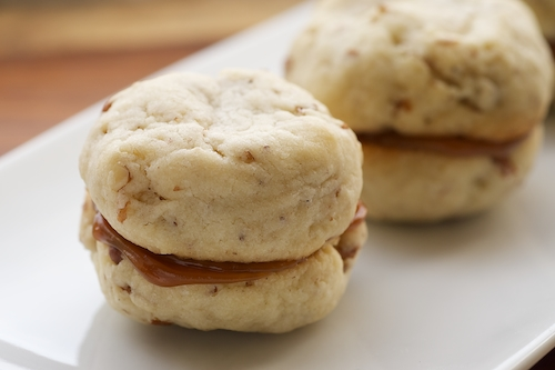 Cream Cheese Shortbread-Dulce de Leche Sandwich Cookies | Bake or Break