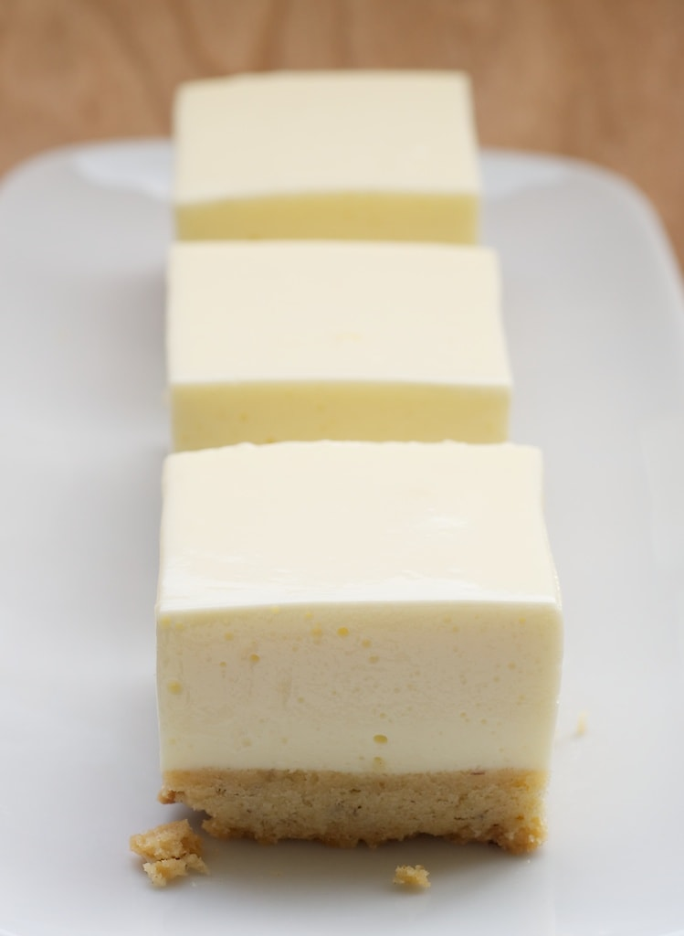 Lemon Icebox Bars are deliciously cool and refreshing. The hint ginger and hazelnuts in the crust really make them extra tasty! - Bake or Break