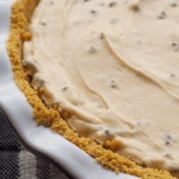Peanut Butter Chocolate Chip Pie