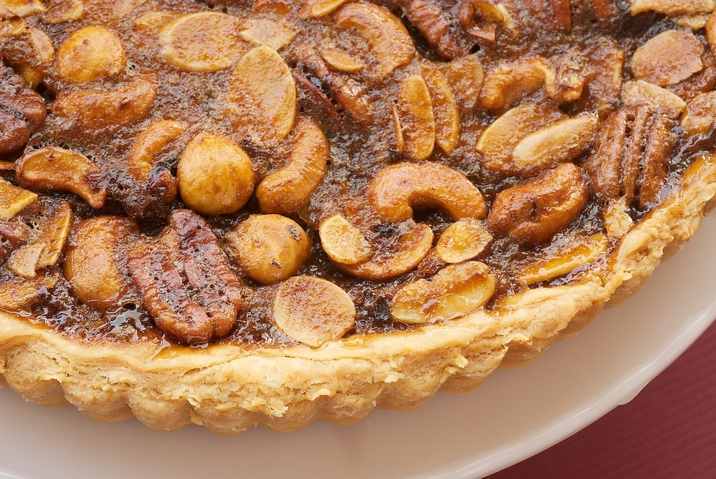 Mixed Nut Tart | Bake or Break