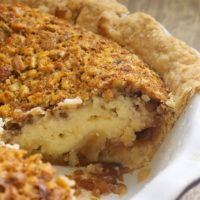 Pecan Cheesecake Pie is a delicious pecan pie-cheesecake hybrid! - Bake or Break