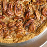 If you love pecan pie, you won't want to miss this Deep-Dish Pecan Pie with lots of extra gooey filling.
