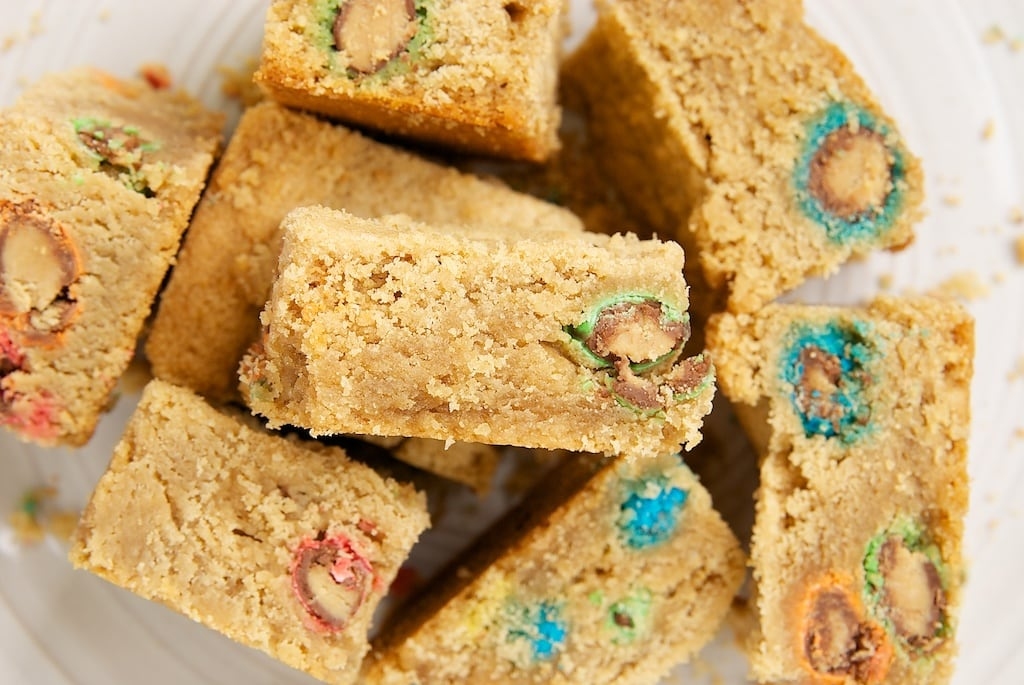 Peanut Butter Cookie Bars | Bake or Break