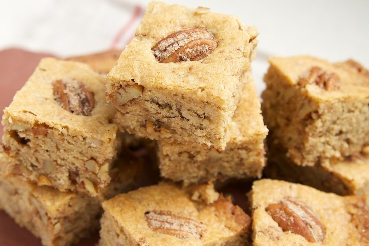 Cinnamon-Sugar Pecan Bars