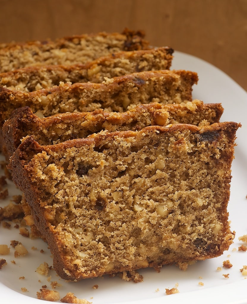 Hazelnut Date Bread  is a nutty quick bread with just the right amount of sweetness.