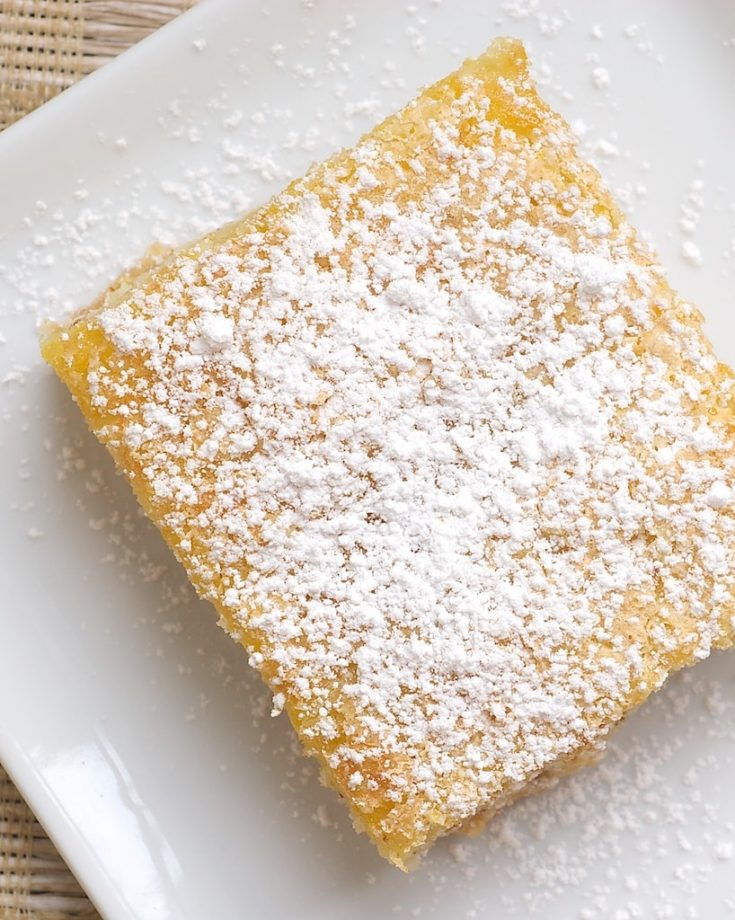 Fresh orange juice and zest take center stage in these sweet and simple Orange Bars! - Bake or Break