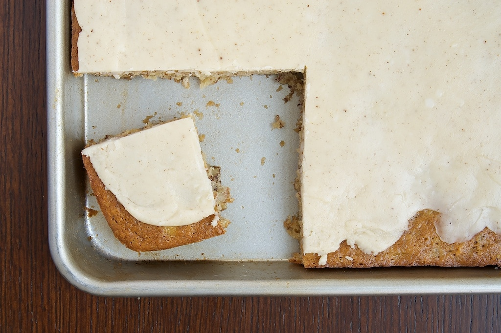 Banana Bars with Browned Butter Icing   Bake or Break