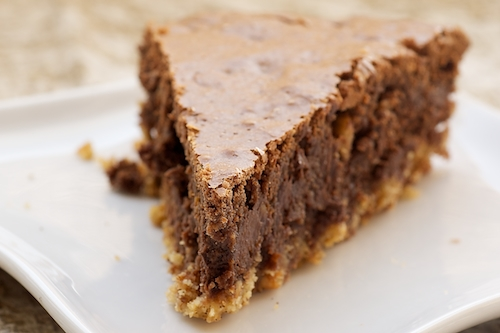 Hazelnut Brownie Tart | Bake or Break