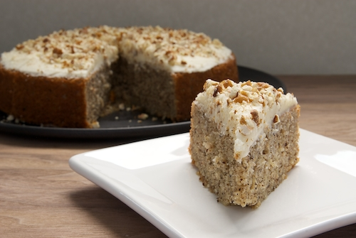 Pecan Cake with Rum Frosting | Bake or Break