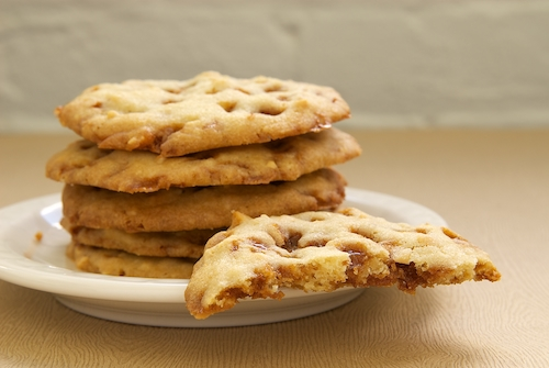 Peanut Toffee Cookies | Bake or Break