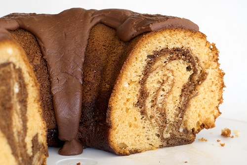 Butterscotch Marble Cake | Bake or Break