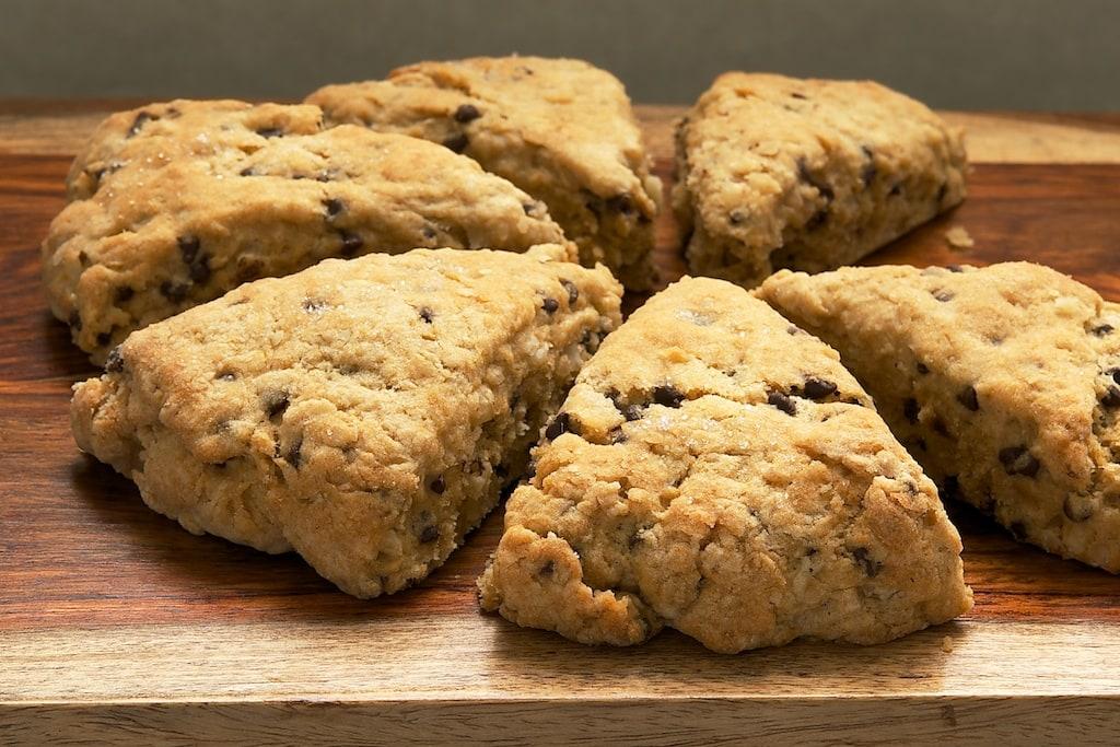 Chocolate Chip-Hazelnut Scones | Bake or Break