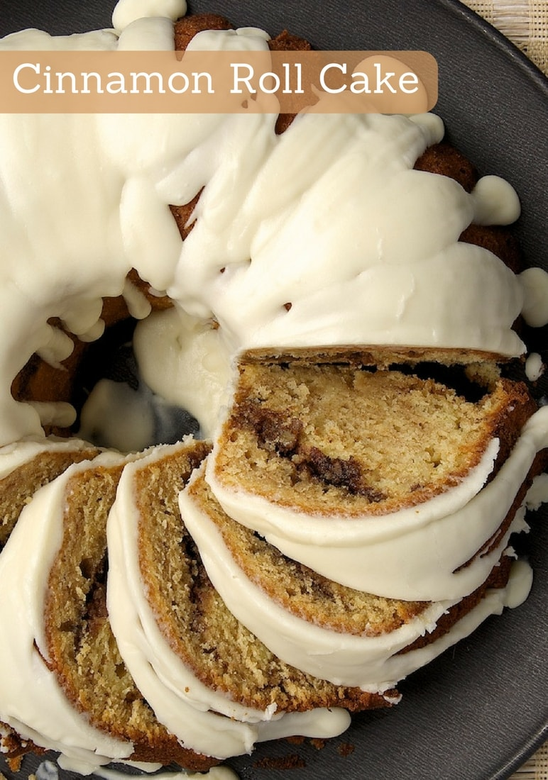 Cinnamon Roll Cake takes all the flavors you love in cinnamon rolls and puts them into a delicious cake! - Bake or Break