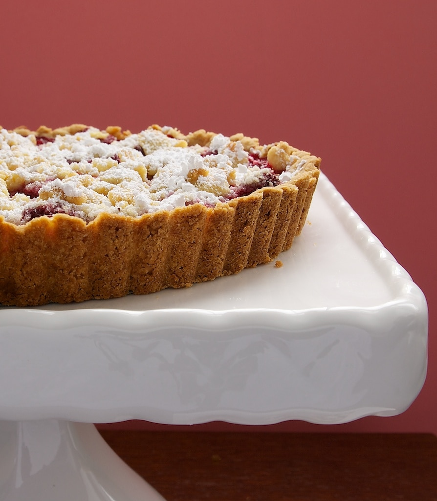 Raspberry Almond Crumb Tart | Bake or Break