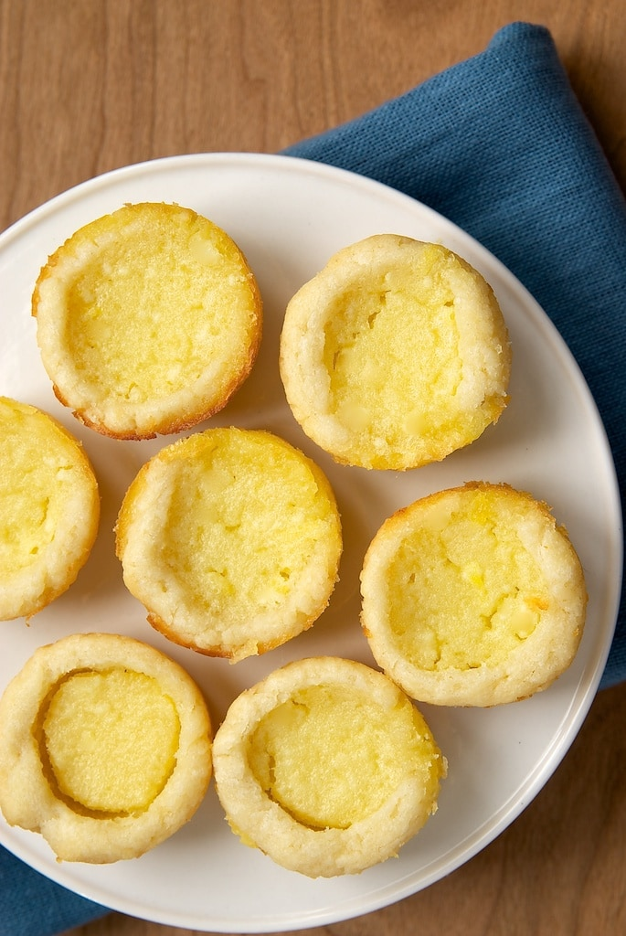 Lemon Chess Tartlets are sweet, tart mini pies that are so simple to make and a pleasure to eat! - Bake or Break