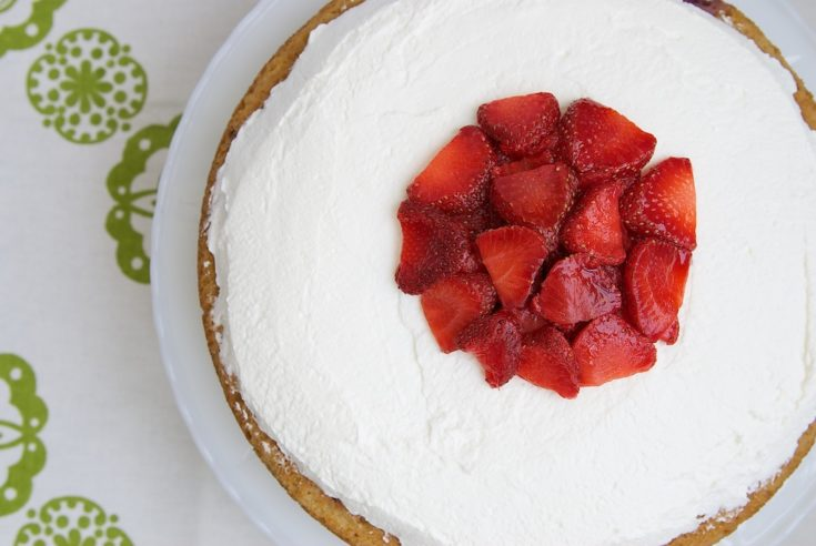 Lemon-Strawberry Shortcake