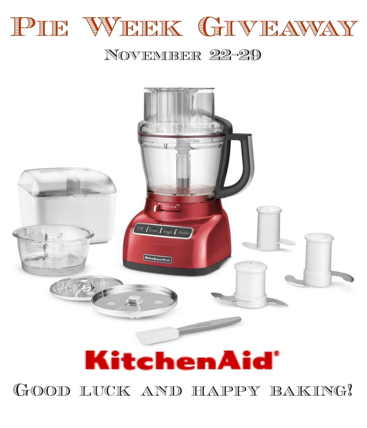 KitchenAid Giveaway | Bake or Break